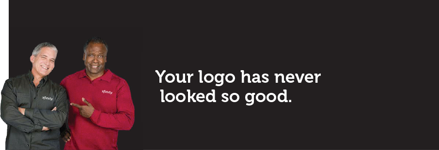 Your logo has never looked so good
